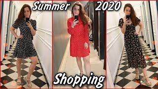 Летний SHOPPING Vlog Покупаю платья Образы на Лето 2020 ШОПИНГ Много Покупок Одежды
