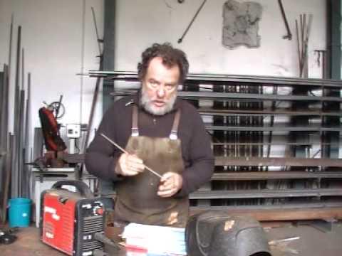 Curso de soldadura gratis 4 escultura en hierro 39 youtube - Como soldar hierro ...