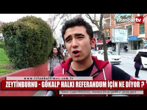 Zeytinburnu   GÖKALP halkı referandum için ne diyor
