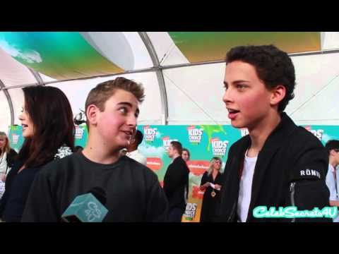 Buddy Handelson & Jackie Radinsky   2016 Kids' Choice Awards