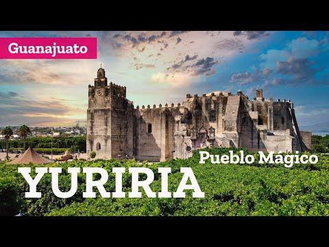 Que hacer en Yuriria, Pueblo Mágico de Guanajuato, ex convento, laguna y cráter