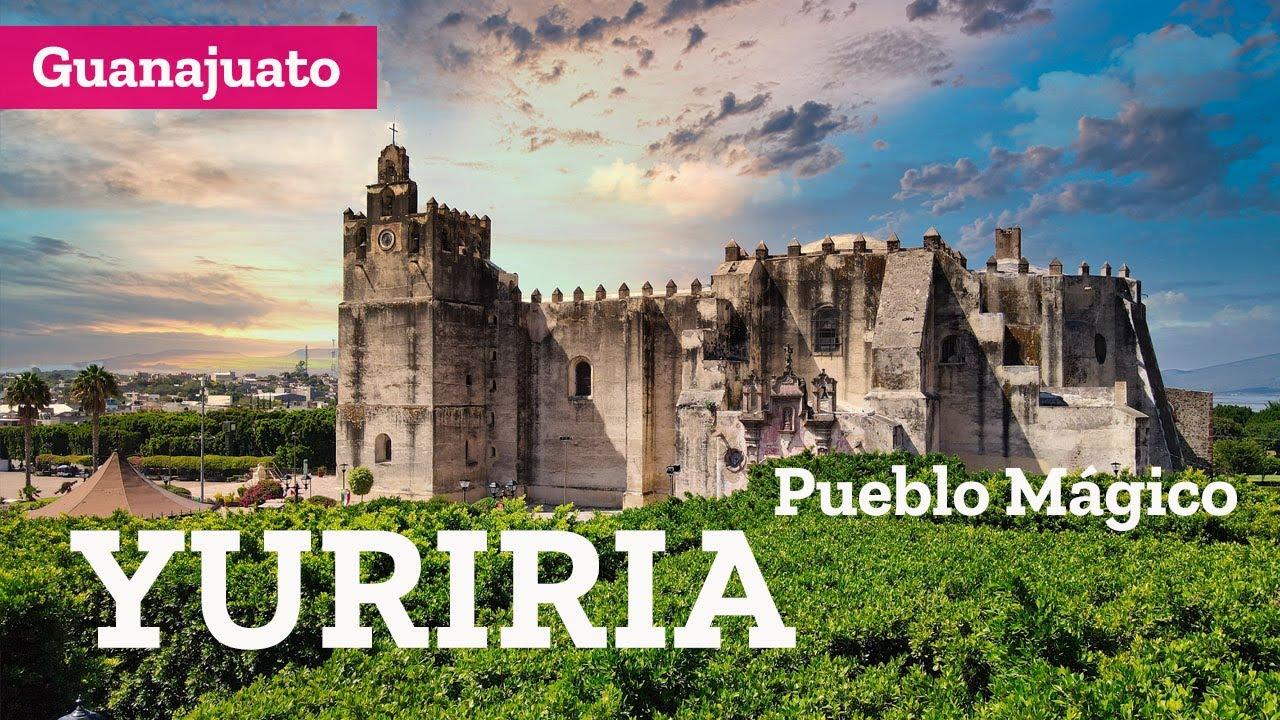 Download Que hacer en Yuriria, Pueblo Mágico de Guanajuato, ex convento, laguna y cráter