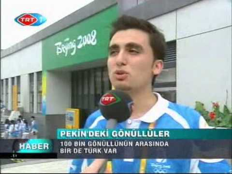 AHMET PALTA / Beijing 2008 Olympic Games Turkish volunteer/CHİNA