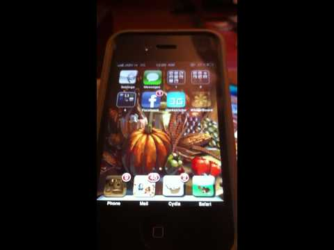 Jailbroken iPhone Turkey Gobbler Ringtone