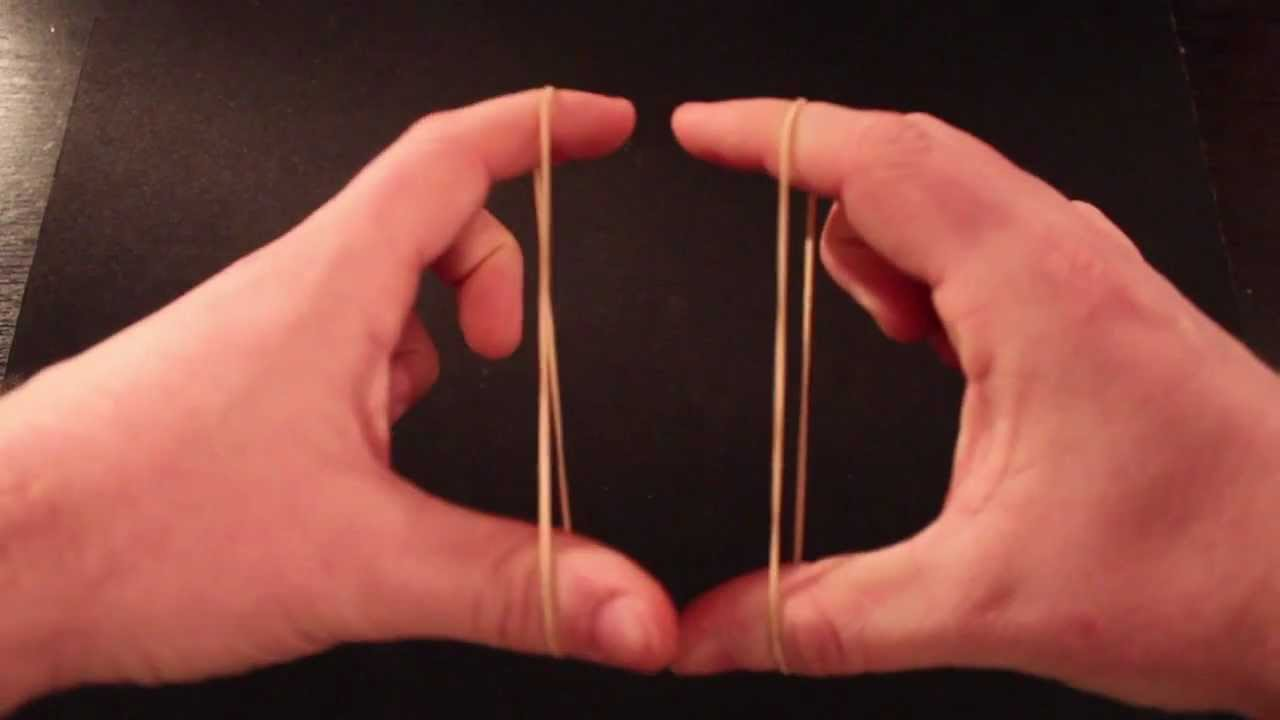 Best Rubber Band Magic Trick Ever Youtube