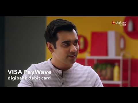 Tap & Pay | VISA Paywave debit card from digibank by DBS