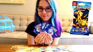 opening 5 pokemon xy evolutions booster packs   radiojh audrey