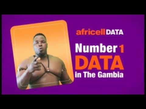 Africell Data - Kunta Kinteh Endorsement - Gambia