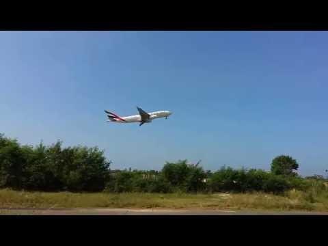 EMIRATES✈️ TAKE OFF, TRIVANDRUM INTL AIRPORT.