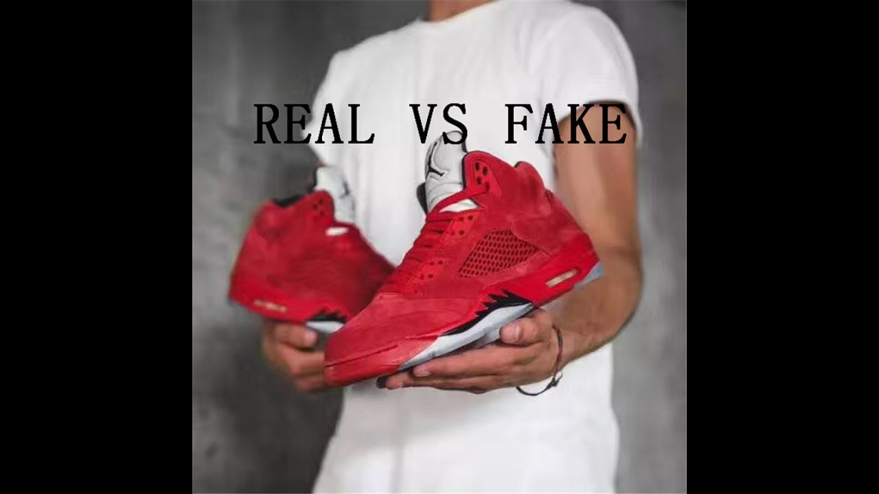 """RED SUEDE"""" REAL VS FAKE"""
