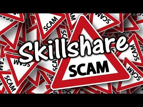 How Skillshare Scammed Me - Do NOT Sign Up!!!