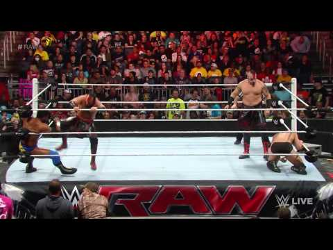 The Prime Time Players reunite: Raw, February 16, 2015