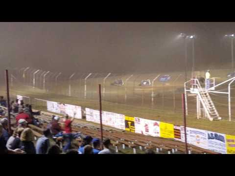 September 23, 2016 Crate Late Model Heat 1 Dog Hollow Speedway