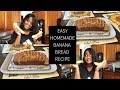 TAMZY TREATZ : EASY BANNA BREAD RECIPE
