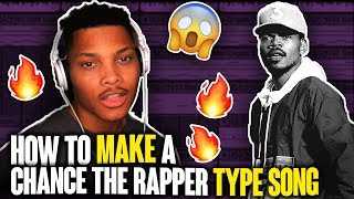 How to Write a Chance The Rapper Song in 5 min