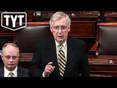 McConnell Scrambling To Cover Up Involvement In Russian Meddling
