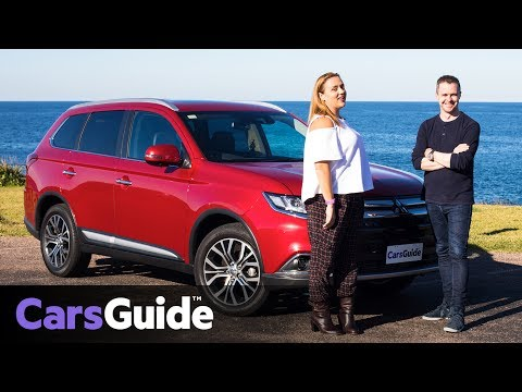 Mitsubishi Outlander Exceed diesel 2017 review: Torquing Heads video