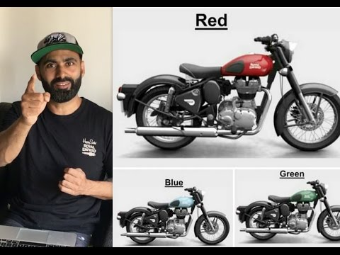 Q & A #10 | Royal Enfield | New Colours (2017)