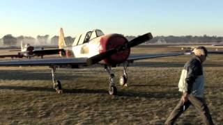 Yak 52 cold starts and early mornings