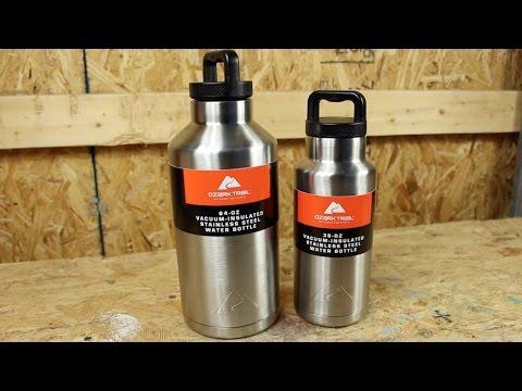 Ozark Trail 36oz Rambler & 64oz Growler Style Bottle MUCH CHEAPER