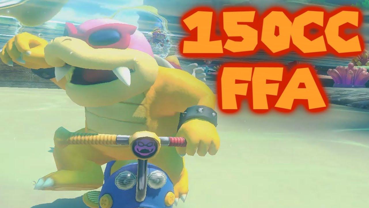 Mario Kart 8 Deluxe Competitive 150cc Ffa 2 Youtube