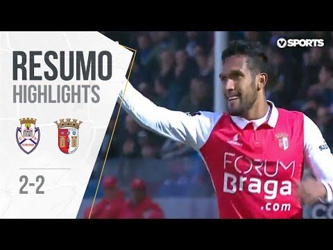Feirense 2-2 Sp. Braga (Liga 29ªJ): Resumo