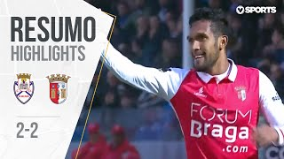 Highlights | Resumo: Feirense 2-2 Sp. Braga (Liga 17/18 #29)