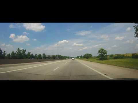 Driving around Columbus, Ohio