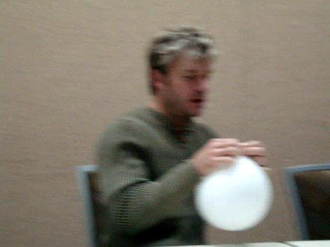 Vic Mignogna doing Ed rants on helium!