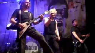 Schwarzer Engel - Hassliebe Backstage Club München 27.12.2013
