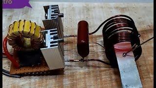 How To Make Induction Heat Coil Diy Induction heat coil with 12 vol...
