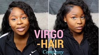ALIEXPRESS HAIR REVIEW - VIRGO HAIR COMPANY - WET AND WAVY CURLY