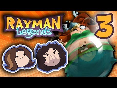 Rayman Legends: Look At That Teamwork! - PART 3 - Game Grumps |