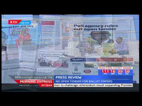 Reasons why IEBC switch to restricted tendering on ballot papers tendering process