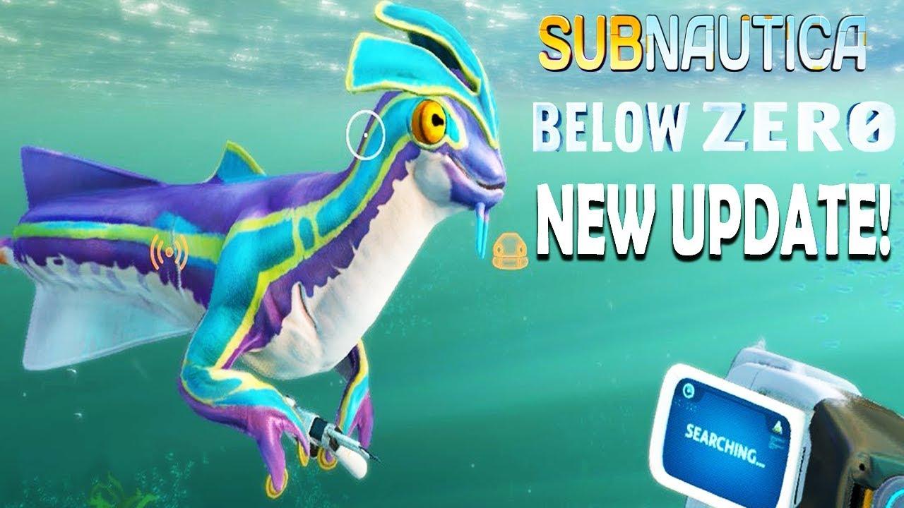 Subnautica Below Zero    SQUID SHARK AND SEA MONKEY [New Update]