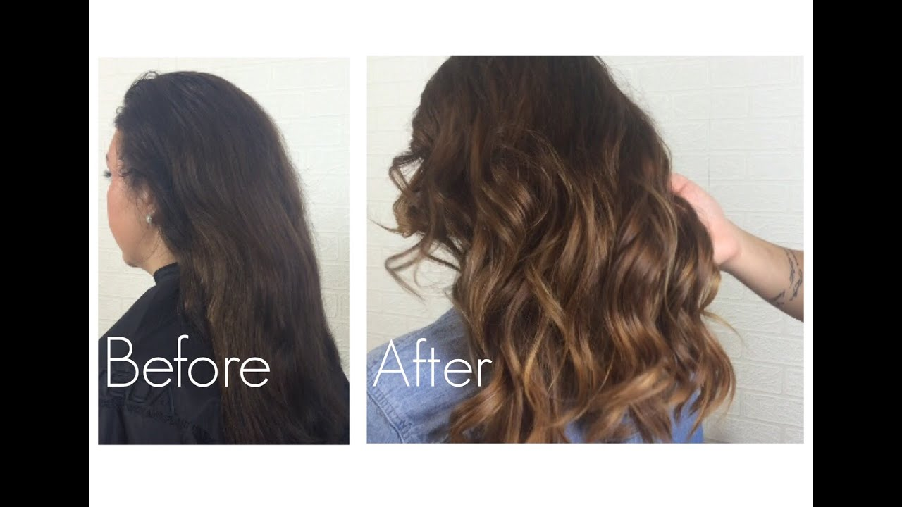 Long Bob Ombre Braun Natural Ombre With Minimal Damage To Hair Bianca Gover