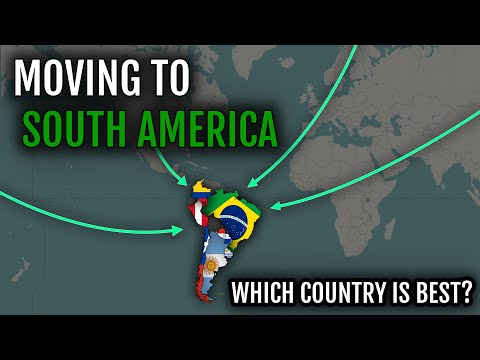 Moving to South America | Which country? (comparison)