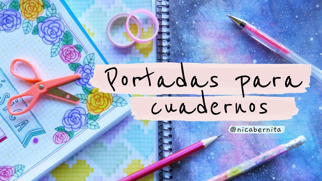 Portadas Bonitas Para Cuadernos De Rayas Y Cuadriculados Portadas Para Cuadernos Tumblr