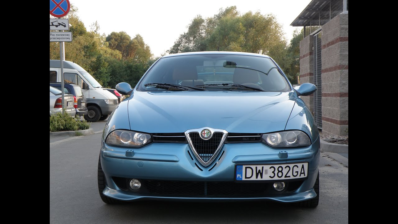 alfa romeo 156 2 5 v6 fantasia azzurro tuning youtube. Black Bedroom Furniture Sets. Home Design Ideas