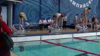 видео Любительские старты по плаванию «Мой «Олимпийский» рекорд»