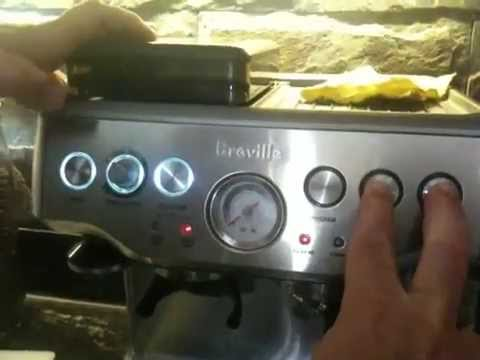 How to clean the breville coffee maker for idiots - YouTube