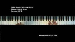 Boogie Woogie Basic - Piano