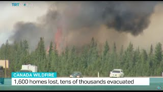 Officials say key areas under control in Canada wildfire, Tetiana Anderson reports