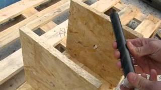 Опалубка своими руками(Специалисты по материалам для промышленного строительства группы компаний SANPOL (ООО