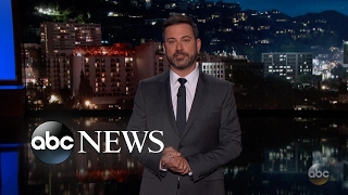 Jimmy Kimmel returns to TV with health care message