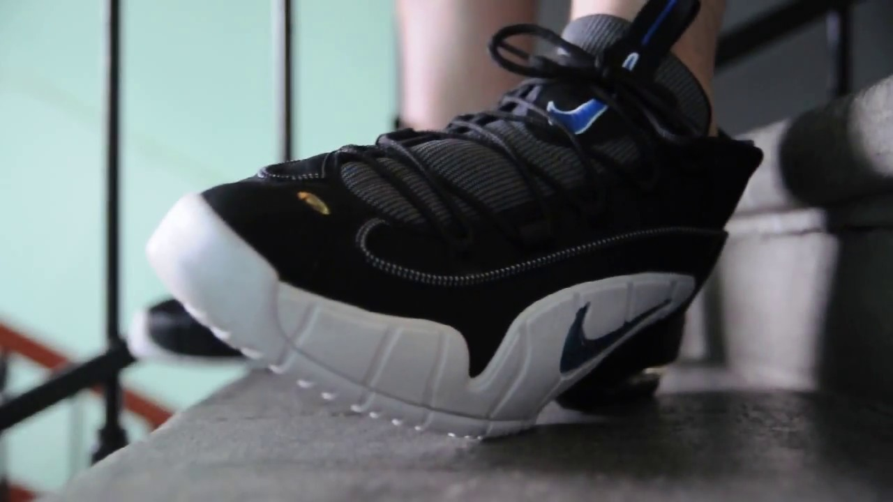 65d1b7319174 2011 Nike Air Max Penny 1   Orlando Magic   on feet womft - YouTube