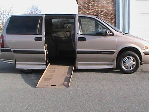Wheelchair Van For Sale 2003 Chev Venture By Braun Charlotte NC