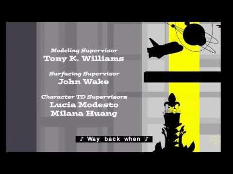 Mr. Peabody & Sherman End Credits on FXX