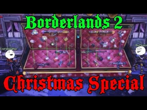 Christmas Special with Craftbrewman & BigChance! - Borderlands 2 Christmas DLC Funny Moments