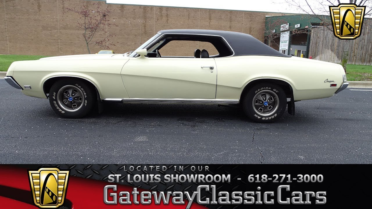 1969 Mercury Cougar for sale at Gateway Classic Cars STL - YouTube